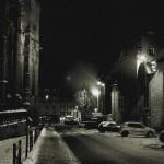 Une ville déserte