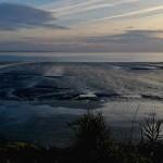 Une plage argentée