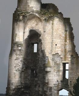 Dans un château de misère