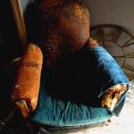 La nuit sur un fauteuil